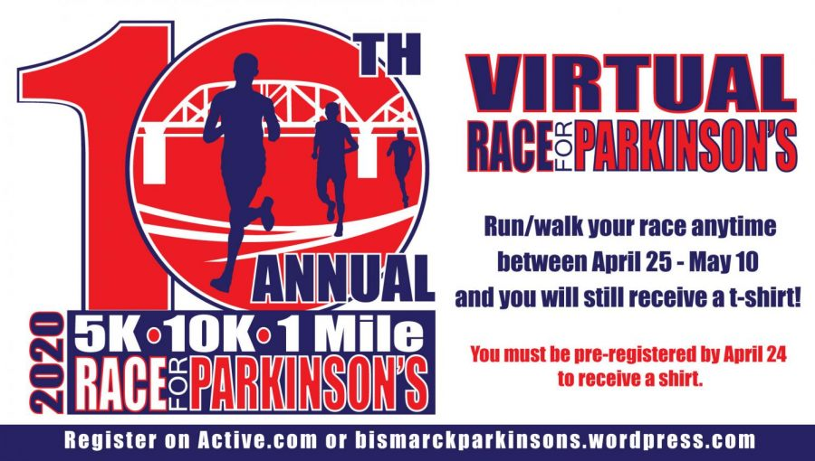 Online+Race.+The+10th+race+for+Parkinson%E2%80%99s+is+being+held+online+this+year.+Participants+can+complete+their+own+race+individually+between+April+25+-+May+10.+%E2%80%9C%5BI+participate+for%5D+bringing+awareness+to+Parkinson%E2%80%99s+and+getting+some+exercise+at+the+same+time%2C%E2%80%9D+Race+for+Parkinson%E2%80%99s+participant+Katie+Vranicar+said.+