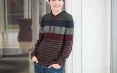 """On to greater things. BHS senior Connor Fogarty plans to go to St. Olaf College in Northfield, Minnesota. During high school, Fogarty has been a part of several high school activities - including the BHS HiHerald. """"I have so many varied interests, whether it's music, math, writing, programming or physics. I don't want to start narrowing down just yet. That's what college is for,"""" Fogarty said."""