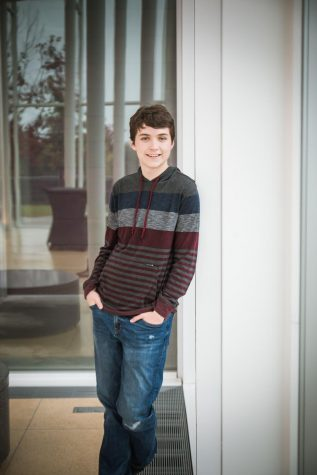 "On to greater things. BHS senior Connor Fogarty plans to go to St. Olaf College in Northfield, Minnesota. During high school, Fogarty has been a part of several high school activities - including the BHS HiHerald. ""I have so many varied interests, whether it"