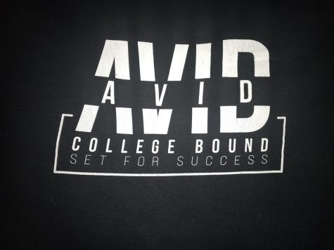 "Making the future more certain. A BHS senior's AVID (Advancement Via Individual Determination) crewneck proclaims the goal of the program, which remains constant despite the challenges posed by the pandemic. However, participation in AVID includes far more rewards than simply a crewneck. ""AVID is meant to give you some of the skills needed to prepare you to get into college and help you succeed in college by helping you with the application process your senior year, but it also allows you to effectively use your time in college and be prepared for what's to come,"" BHS senior John Johnson-Ripplinger said."