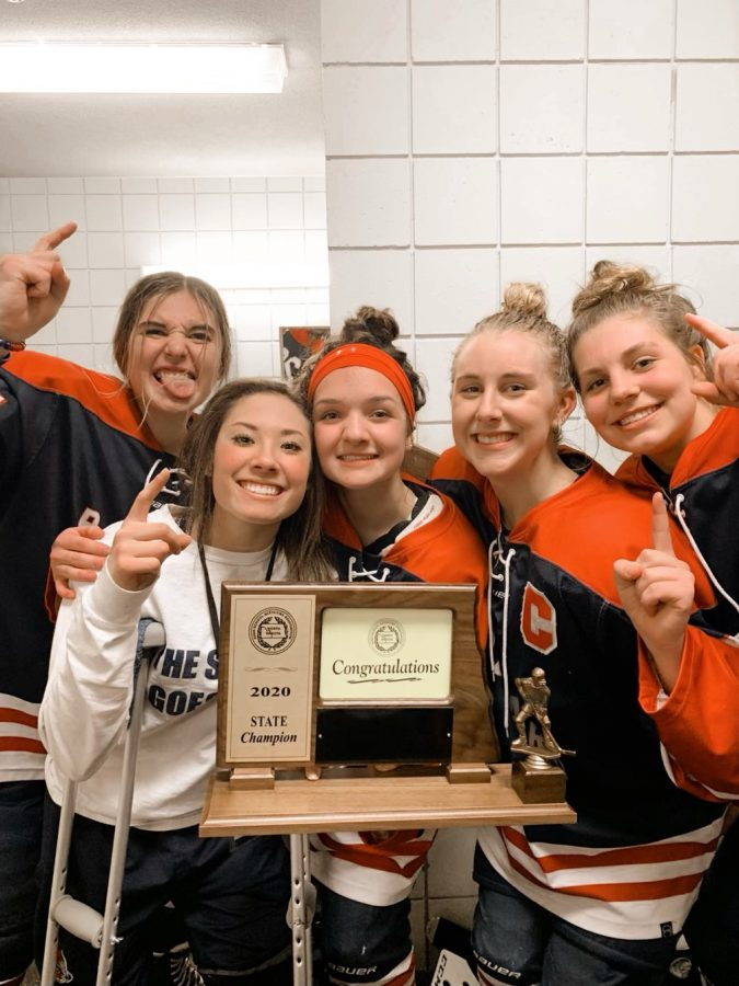 "6-Peat. The Bismarck Blizzard captured their sixth consecutive state championship in February. Despite her knee injury, senior Noelle Martin was still a big part of the team during their title run. ""Noelle is a great teammate and a great person,"" Bismarck Blizzard Head Coach Tim Meyer said. ""I don't know anyone who doesn't get along with Noelle. She has a lot of leadership qualities that her teammates look up to."""